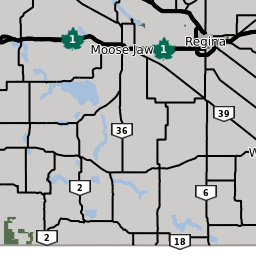 Saskatchewan Ministry of Highways and Infrastructure: Highway Conditions